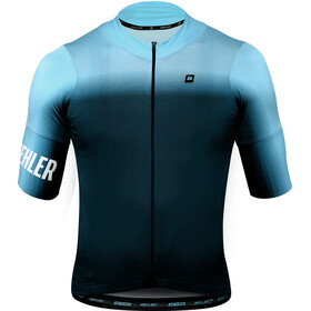 Biehler Dsgn.Lab Essential SS Jersey Men, gradient blur blue